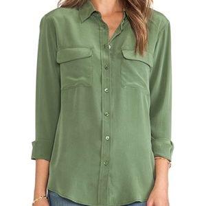 Equipment femme silk shirt